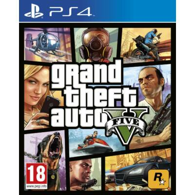 Rockstar Games Grand Theft Auto V (PS4) Játékprogram
