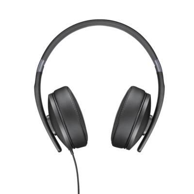 Sennheiser HD 4.20s Stereo fejhallgató mikrofonnal - fekete összehajtható 1 gombos
