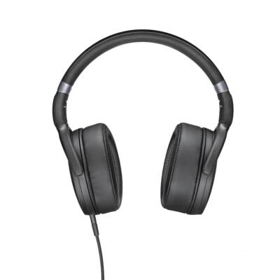 Sennheiser HD 4.30i Black Stereo fejhallgató - fekete  összehajtható 3 gombos