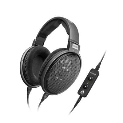 Sennheiser  HD 650 Stereo fejhallgató  titán  különleges akusztikával