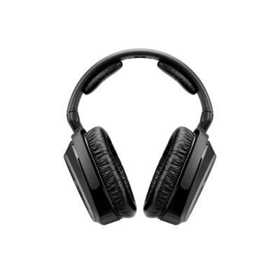 Sennheiser RS 165 Stereo vezeték néküli fejhallgató  - fekete digitális  ergonómikus kivitel