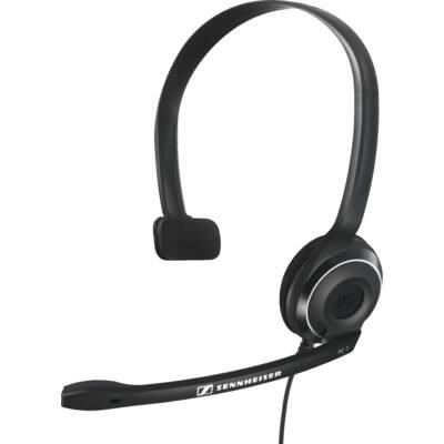 Sennheiser PC 7 MONO fejhallgató PC headset USB - fekete egyfüles könnyű masszív