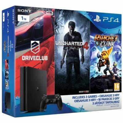 PlayStation 4 1TB Slim Family Bundle - PS4