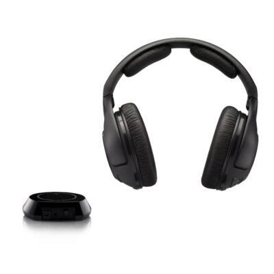 Sennheiser RS 160  Stereo vezeték néküli fejhallgató  - fekete csúcsminőségű zárt kagylós kivitel