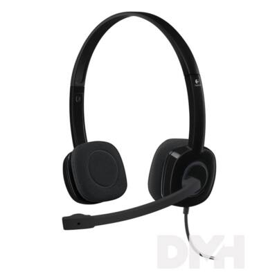 Logitech H151 vezetékes headset