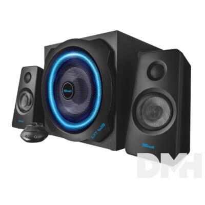 Trust GXT 628 2.1 Illuminated Speaker Set Limited Edition jack 60W fa gamer hangszóró