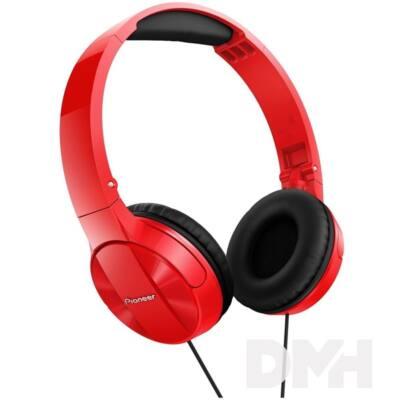 Pioneer SE-MJ503-R piros fejhallgató