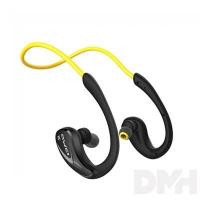 AWEI A880BL In-Ear Bluetooth sárga fülhallgató headset