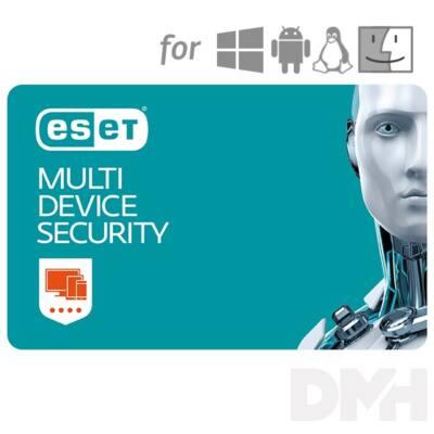 ESET Multi-Device Security hosszabbítás HUN 5 Felhasználó 1 év online vírusirtó szoftver