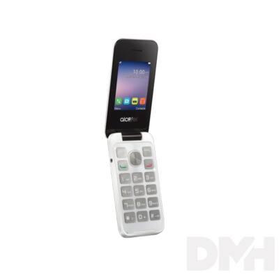 """Alcatel 2051D 2,4"""" Dual SIM fehér mobiltelefon"""