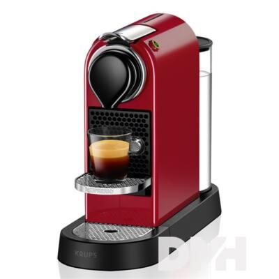 Krups XN7405CP Nespresso Citiz cseresznyepiros kapszulás kávéfőző