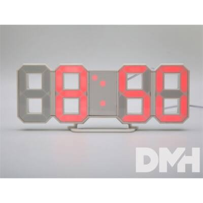 Itotal CM3029 3D-s piros ébresztő óra