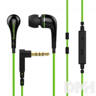 SoundMAGIC ES11S In-Ear zöld fülhallgató headset