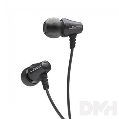 Brainwavz Jive In-Ear fekete fülhallgató headset