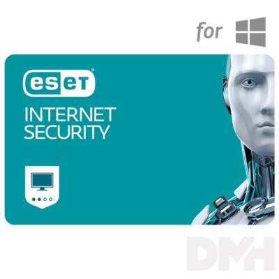 ESET Internet Security hosszabbítás HUN 2 Felhasználó 1 év online vírusirtó szoftver
