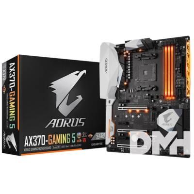 Gigabyte AX370-GAMING 5 AMD X370 SocketAM4 ATX alaplap