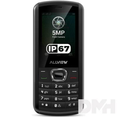"""Allview M9 Jump 2,4"""" Dual SIM fekete mobiltelefon"""