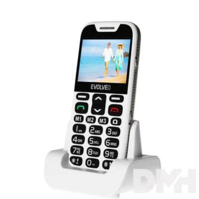 """Evolveo Easyphone XD EP-600 2,3"""" fehér mobiltelefon"""