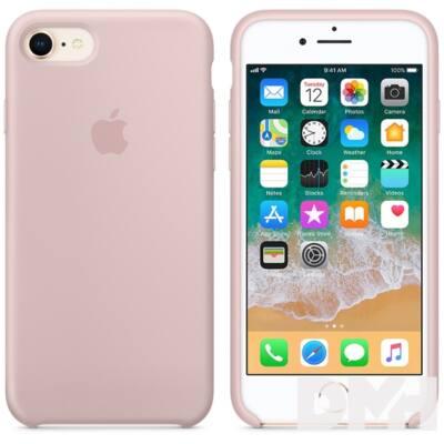 Apple iPhone 7/8 szilikontok rózsakvarc
