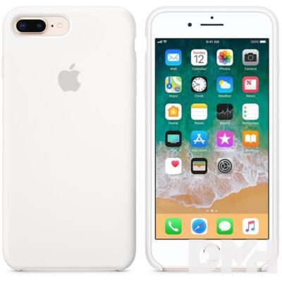 Apple iPhone 7/8 Plus szilikontok fehér