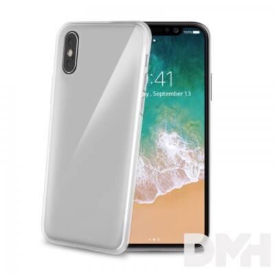 CELLY GELSKIN900 Celly iPhone X átlátszó szilikon hátlap