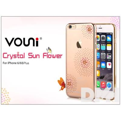 Vouni ST969349 Crystal SUN iPhone 6+/6S+ pezsgőarany hátlap
