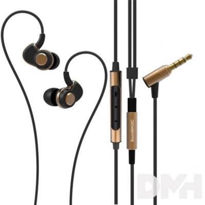 SoundMAGIC PL30+C In-Ear fekete-arany fülhallgató headset