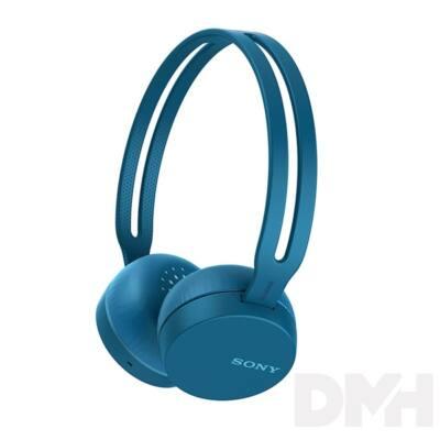 Sony WHCH400L Bluetooth kék fejhallgató