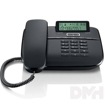 Gigaset DA610 kihangosítható hívóazonosítós fekete vezetékes telefon