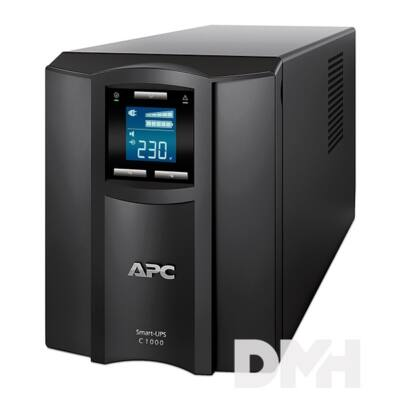 APC Smart-UPS C 1000VA LCD szünetmentes tápegység