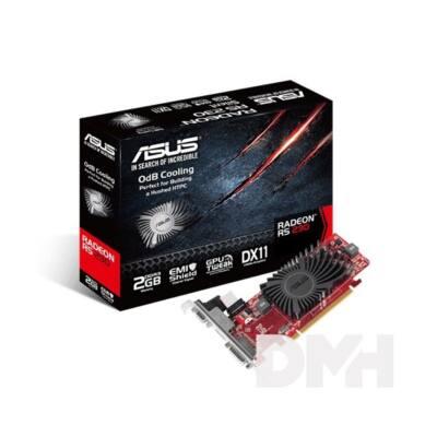 ASUS R5 230-SL-2GD3-L  AMD 2GB DDR3 64bit PCIe videokártya