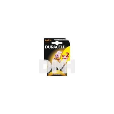 Duracell BSC 4+2 db AAA elem