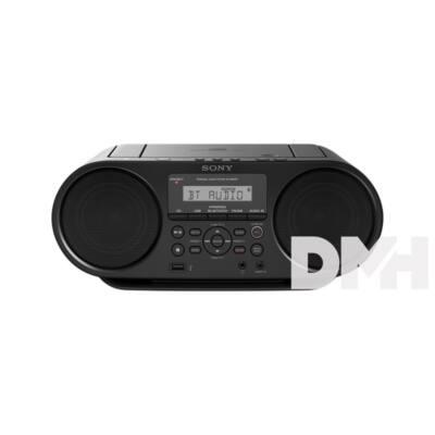 Sony ZSRS60BT.CET hordozható Bluetooth fekete CD rádió