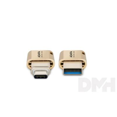 ADATA 16GB USB3.1 Type-C Arany (AUC350-16G-CGD) Flash Drive