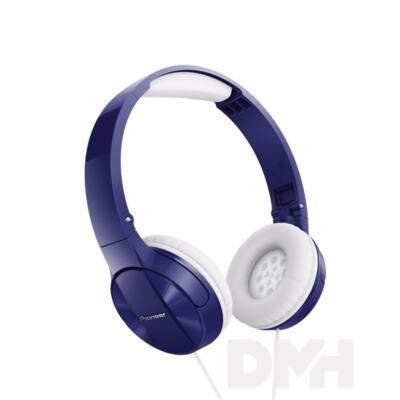 Pioneer SE-MJ503-L kék fejhallgató