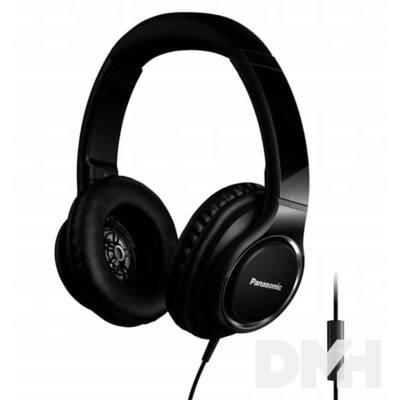 Panasonic RP-HD6ME-K fekete mikrofonos fejhallgató