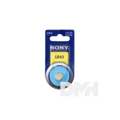 Sony 1db LR43 alkáli gombelem