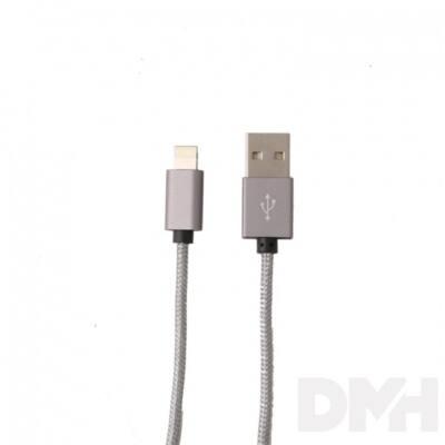 Itotal CM2943GRY Iphone 5/5S 6/6s szürke töltő kábel