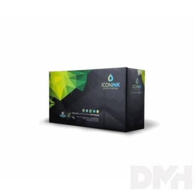 Iconink TK580BK Kyocera utángyártott 3500 oldal fekete toner