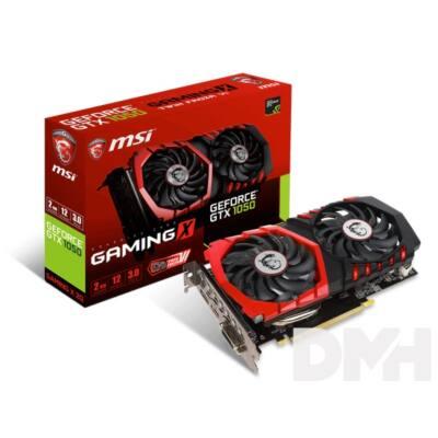 MSI GTX 1050 Gaming X 2G nVidia 2GB GDDR5 128bit PCIe videokártya