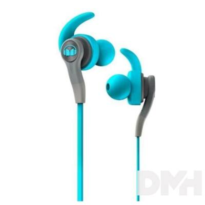 Monster ISPORT COMPETE CTU kék mikrofonos fülhallgató