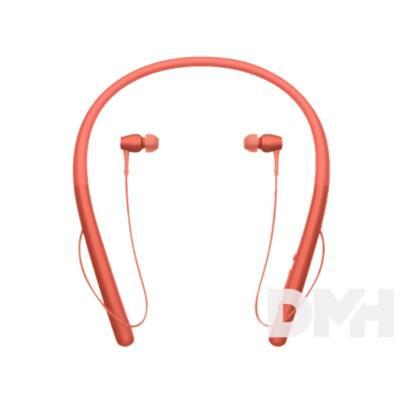 Sony WIH700 Hi-Res Bluetooth piros fülhallgató headset