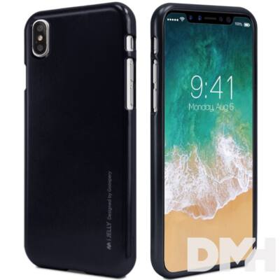 Mercury IJELLYIPX iJelly iPhone X fekete TPU hátlap