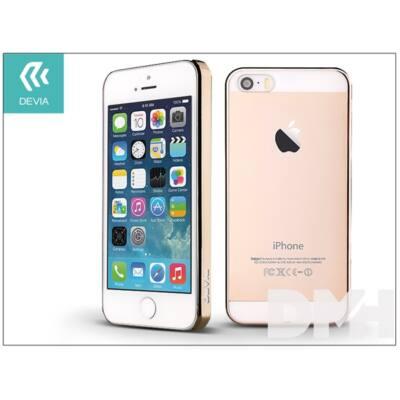 Devia ST983314 GLIMMER iPhone 5/5S/SE arany hátlap