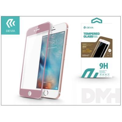 Devia ST982751 JADE2 iPhone 6/6S rózsaarany üveg képernyő + Crystal hátlapvédő fólia