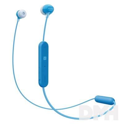 Sony WIC300L Bluetooth kék fülhallgató headset