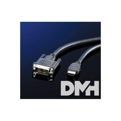 PRC DVI-D (Male) - HDMI 3m kábel