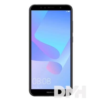 "Huawei Y6 20185,7"" LTE 16GB Dual SIM fekete okostelefon"