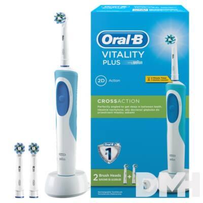 Oral-B D12.523 Vitality Plus CrossAction fejjel