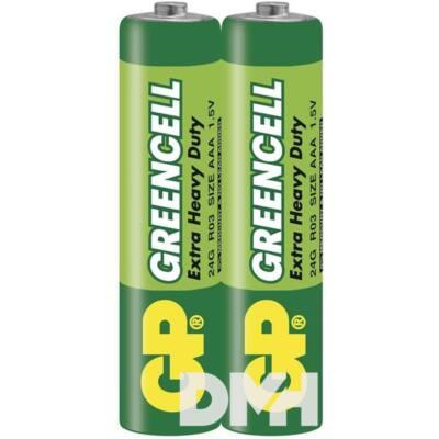 GP Greencell 24G 2db/zsugor mikro ceruza (AAA) elem